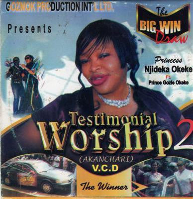 Njideka Okeke - Testimonial Worship 2 - Video CD
