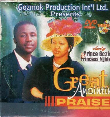 Gozie Okeke - Great Anointing Praise 1 - Video CD
