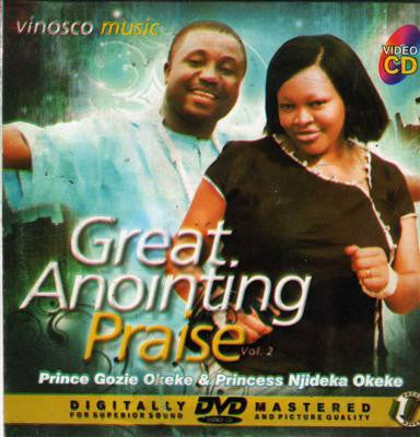 Gozie Okeke - Great Anointing Praise 2 - Video CD