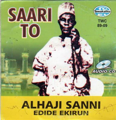 Alhaji Sanni - Saari To - Audio CD