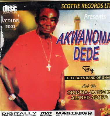 City Boys Band - Akwanoma Dede - Video CD
