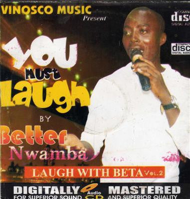 Better Nwamba - Laugh With Beta Vol 2 - CD