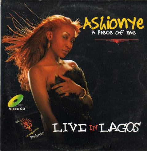 Ashionye - A Piece Of Me - Video CD