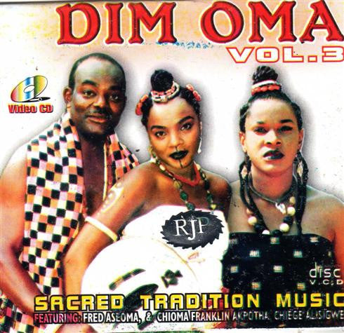 Sacred Tradition - Dim Oma Vol 3 - Video CD - African Music Buy