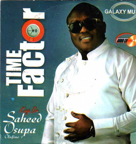 Saheed Osupa - Time Factor - CD