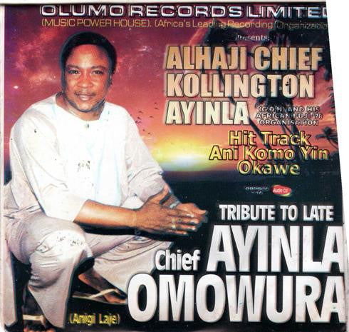 Kollington Ayinla - Tribute To Omowura - CD - African Music Buy