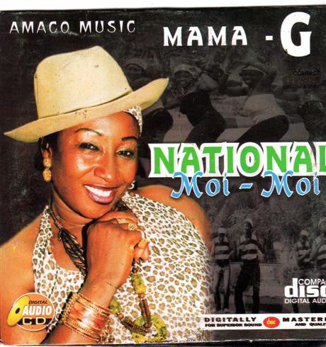Mama G - National Moi Moi - CD