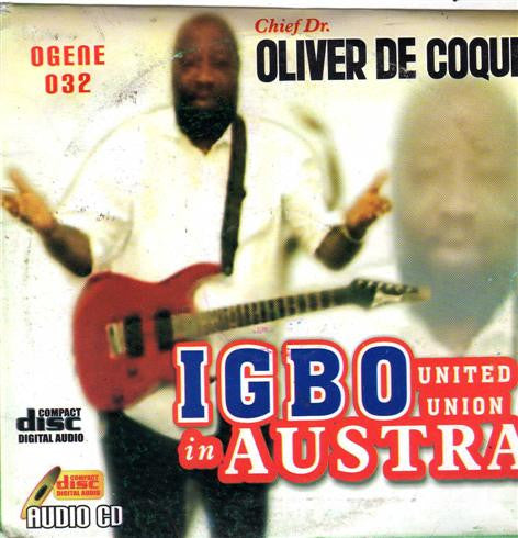 Oliver De Coque - Igbo United Austria - CD