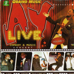 Ay Live - Comedy & Music Vol 1 - Video CD - African Music Buy