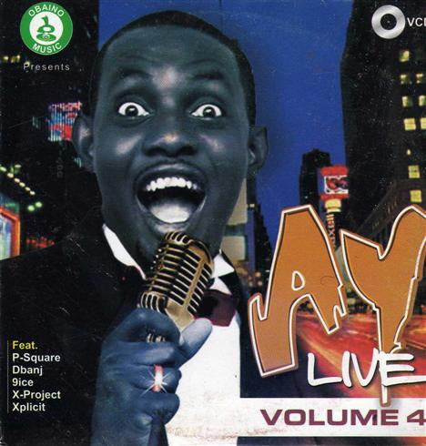 Ay Live - Comedy & Music Vol 4 - Video CD - African Music Buy