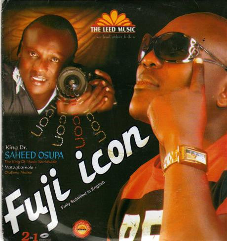 Saheed Osupa - Fuji Icon - Video CD