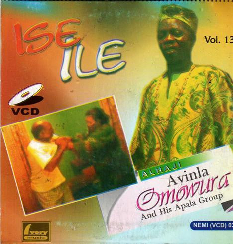 Ayinla Omowura - Ise Ile Vol 13 - Video CD - African Music Buy