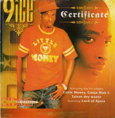 9ice - Certificate - Audio CD