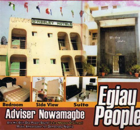 Adviser Nowamagbe - Egiau People - CD