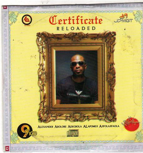 9ice - Certificate Reloaded - CD