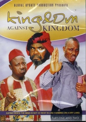 Kingdom Against Kingdom 1&2 - African Movie - DvD