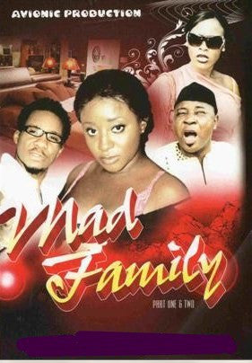 Mad Family 1&2 - African Movie - DVD