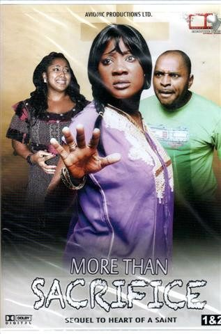 More Than Sacrifice 1&2 - African Nigerian Movie Dvd