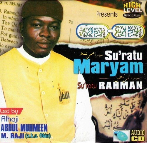 Music CD, - Abdul Muhmeen Raji - Su'ratu Maryam - CD