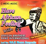 Music CD, - African Brothers - African Feelings - CD