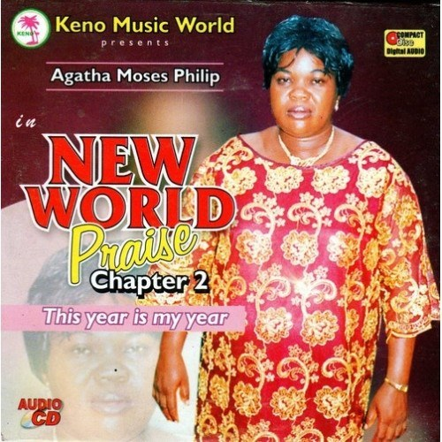 Music CD, - Agatha Moses - New World Praise Vol 2 - CD
