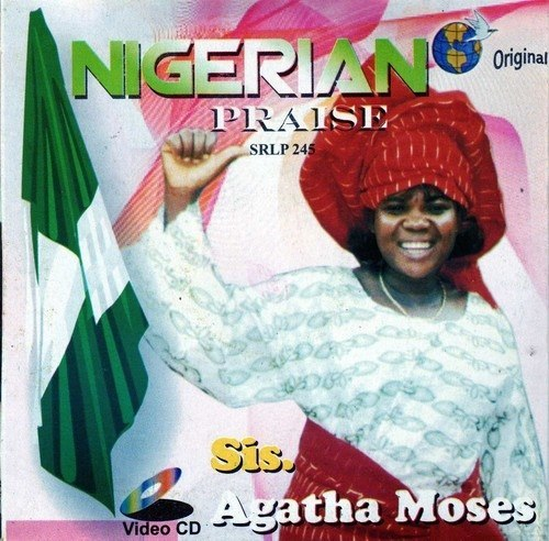 Agatha Moses - Nigerian Praise - Video CD
