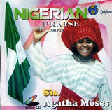 Music CD, - Agatha Moses - Nigerian Praise - Video CD