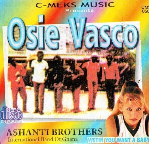 Music CD, - Ashanti Brother - Osie Vasco - Audio CD