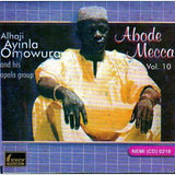 Music CD, - Ayinla Omowura - Abode Mecca Vol 10 - CD