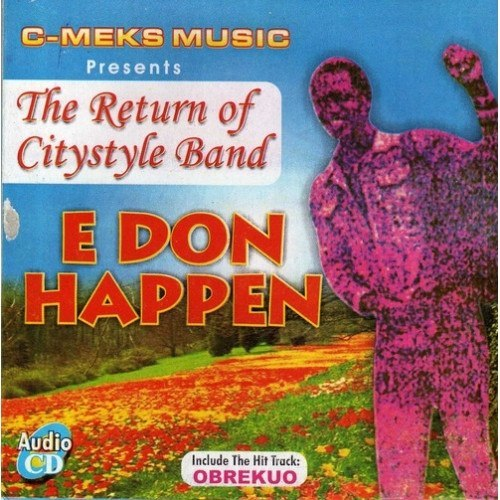 City Style Band - E Don Happen - CD