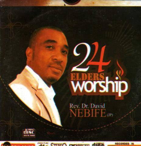 David Nebife - 24 Elders Worship - Audio CD