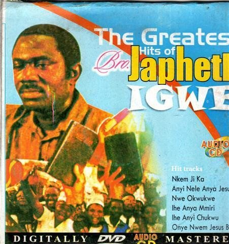 Music CD, - Greatest Hits Of Japhet Igwe - Audio CD
