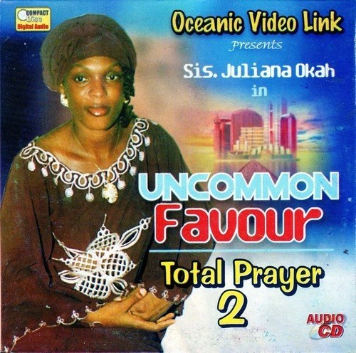 Music CD, - Juliana Okah - Uncommon Favour - Audio CD