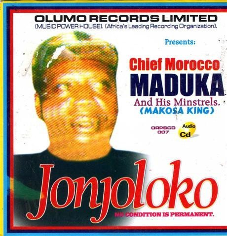 Music CD, - Morocco Maduka - Jonjoloko - CD