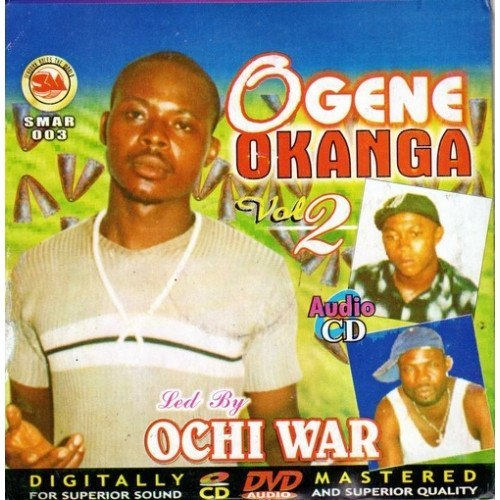 Ochi War - Ogene Okanga Vol 2 - Audio CD