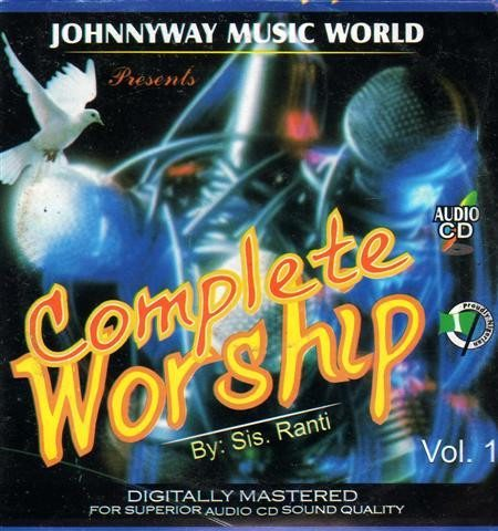 Ranti - Complete Worship Vol 1 - Audio CD - African Music Buy