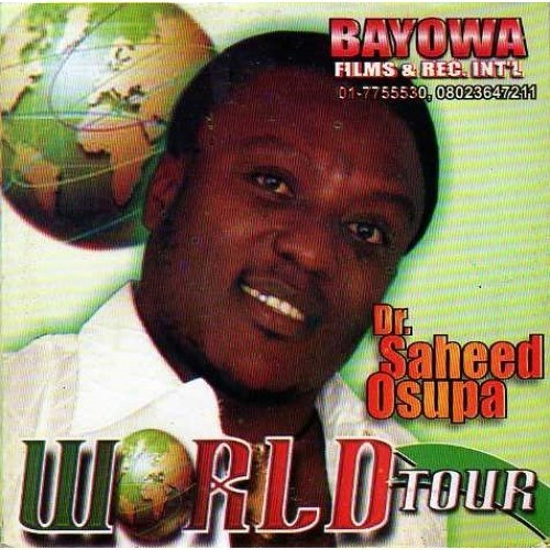 Music CD, - Saheed Osupa - World Tour - Audio CD