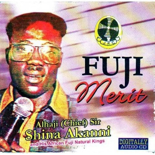 Music CD, - Shino Akanni - Fuji Merit - Audio CD