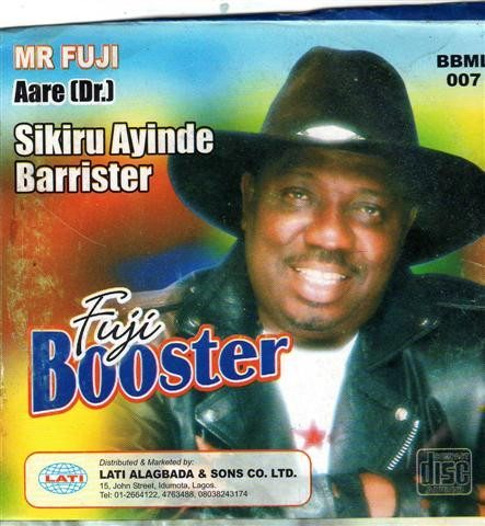 Sikiru Barrister - Fuji Booster - Audio CD