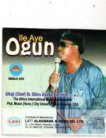 Sikiru Barrister - Ile Aye Ogun - CD - African Music Buy