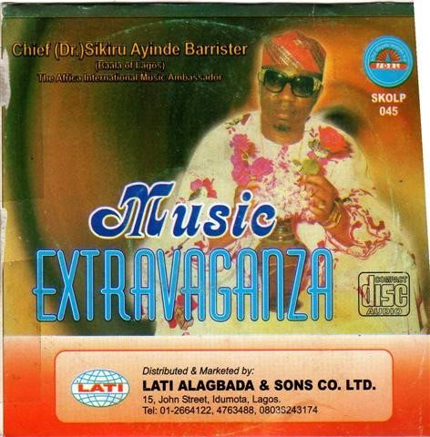 Music CD, - Sikiru Barrister - Music Extravaganza - CD