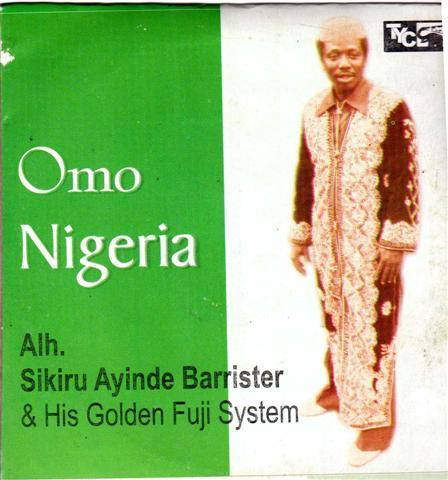 Music CD, - Sikiru Barrister - Omo Nigeria - CD