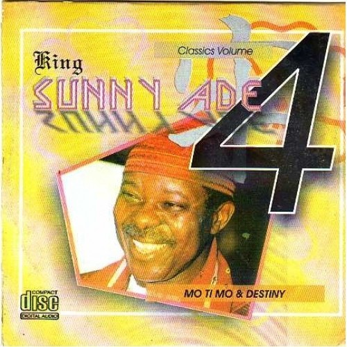 Music CD, - Sunny Ade - Classic Vol 4 - CD