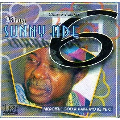 Music CD, - Sunny Ade - Classic Vol 6 - CD