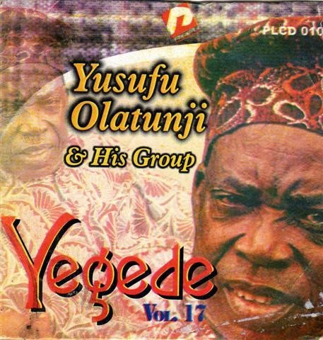Music CD - Yusuf Olatunji - Yegede Vol 17  - CD