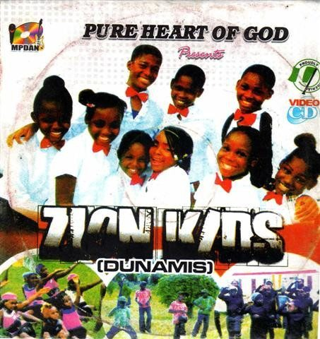Zion Kids Dunamis - Video CD
