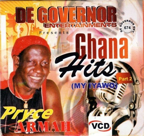 Music Video - Pryce Armah - Ghana Hits Vol 2 - Video CD