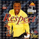 Music Video - Saheed Osupa - Respect - 2 In 1 Video CD
