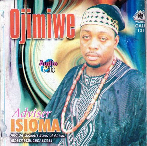 Adviser Isioma - Ojimiwe - Audio CD