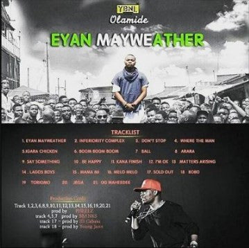 Olamide - Eyan Mayweather - CD - African Music Buy
